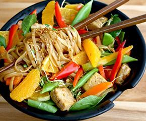dancing carrots oriental noodle salad