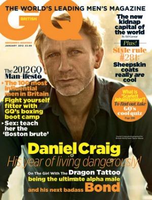 Daniel Craig in British GQ