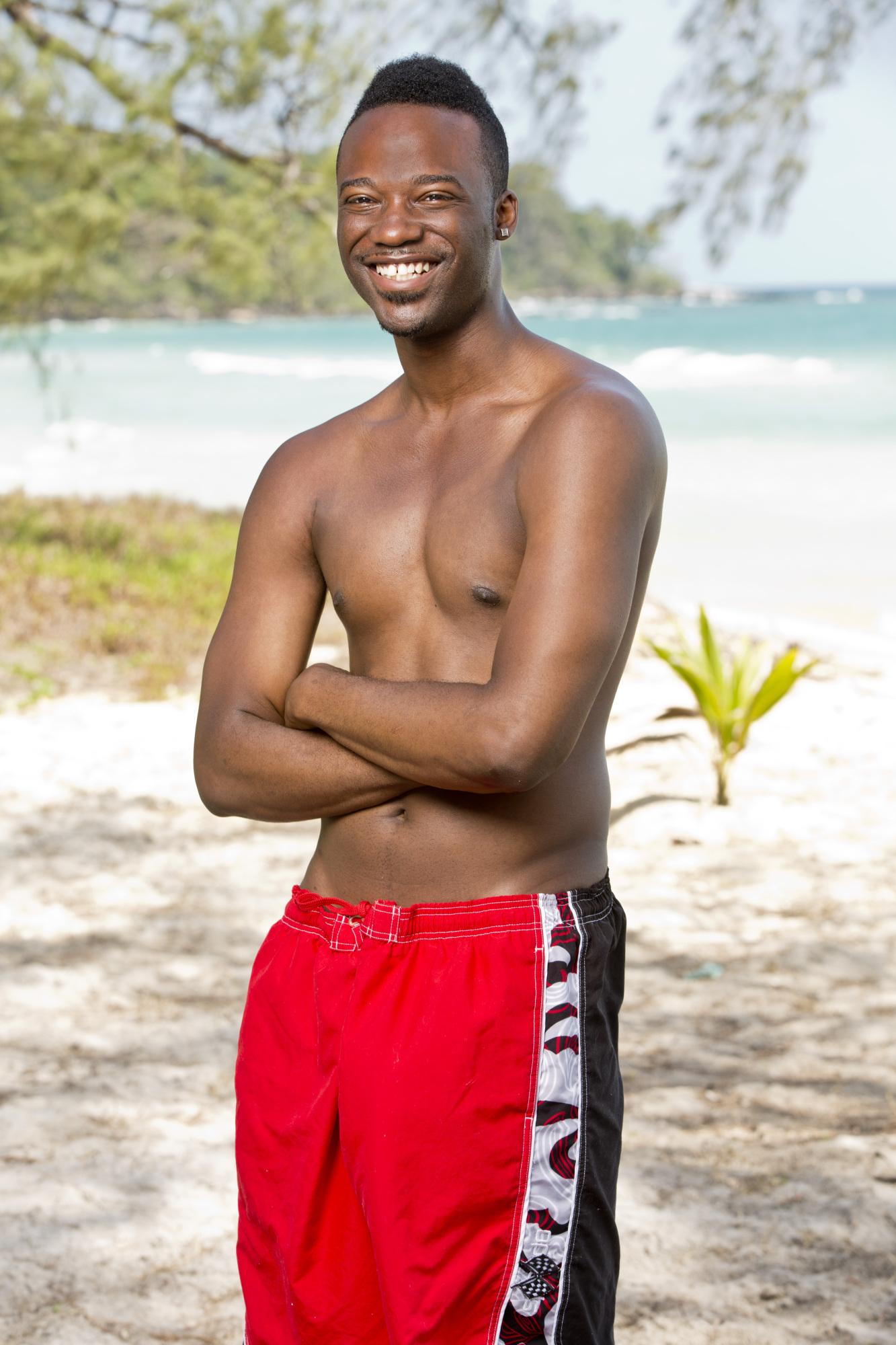 Darnell Hamilton cast photo for Survivor: Kaoh Rong