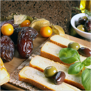 Dates and brie