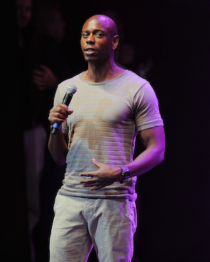 Dave Chapelle performs stand-up in a rare appearance.