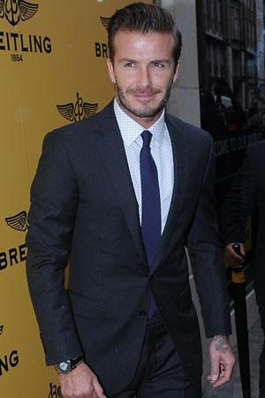 David Beckham too famous for Calvin Klein
