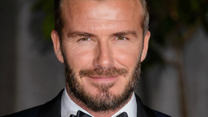 David Beckham proves men should be