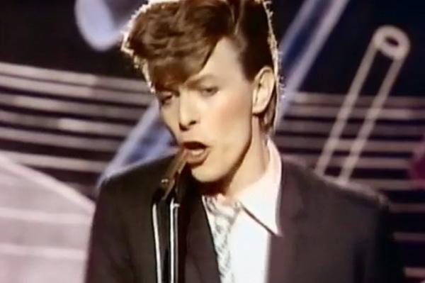 David Bowie in Boys Keep Swinging