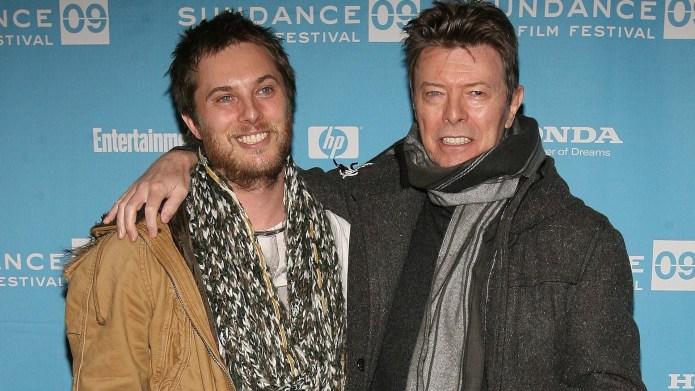 Duncan Jones and David Bowie 2009