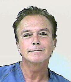 David Cassidy mugshot
