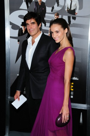 David Copperfield talks about his engagement to french model Chloe Gosselin