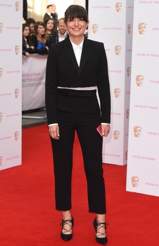 Davina McCall at the TV BAFTAS 2015