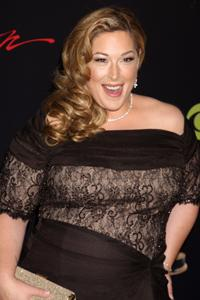 Carnie Wilson trying to hold on