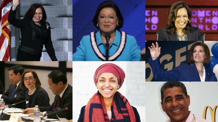 Women and minorities made history in