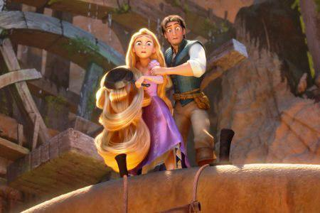 Zachary Levi is Tangled up in