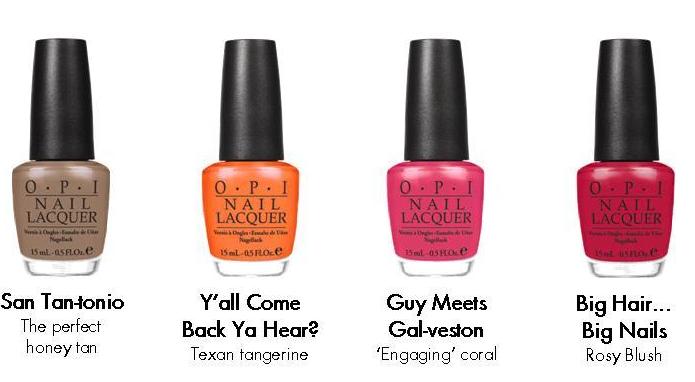 OPI Spring 2011 nail colors