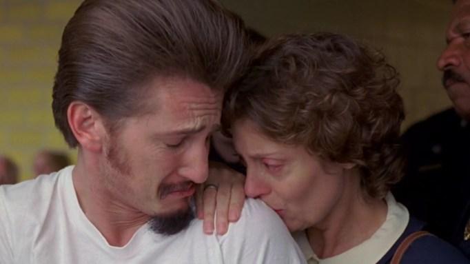 Sean Penn and Susan Sarandon in 'Dead Man Walking.'