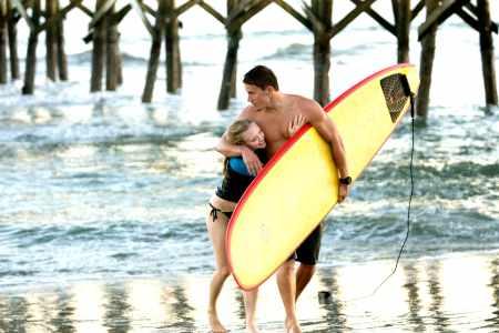 Amanda Seyfried and Channing Tatum in Dear John