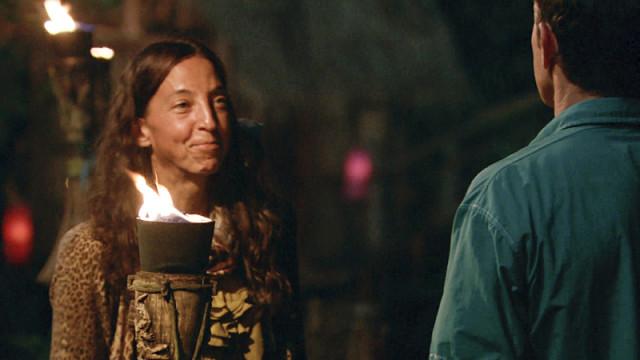Debbie Wanner voted off Survivor: Kaoh Rong