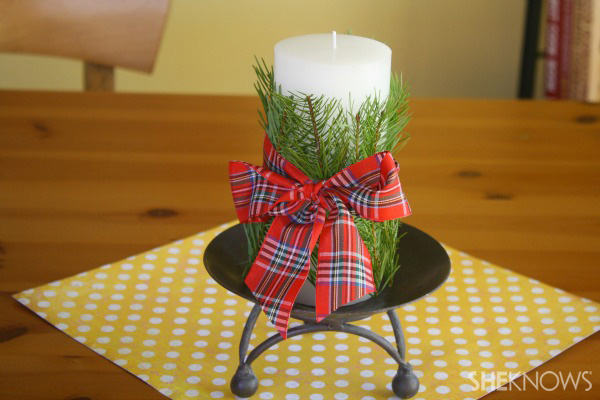 Decorate Candles With Fragrant Leaves Sheknows