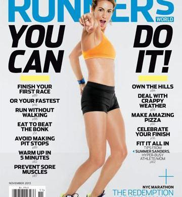 "Olympian Summer Sanders' running tips: ""Lube"