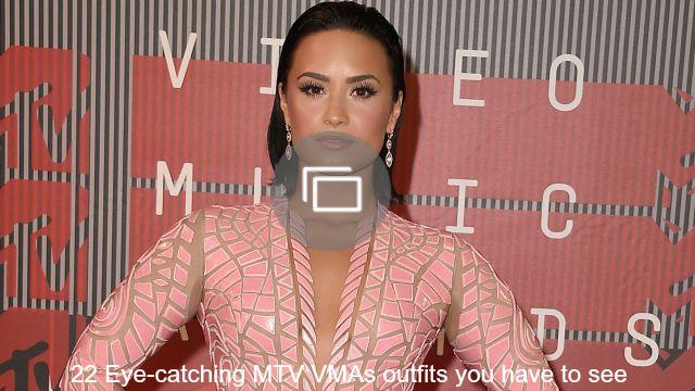 2015 VMA red carpet slideshow