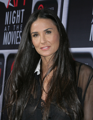 Demi Moore at Arclight