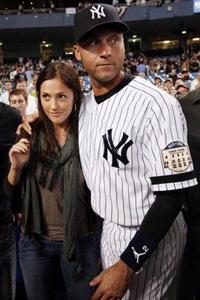 Derek Jeter and Minka Kelly