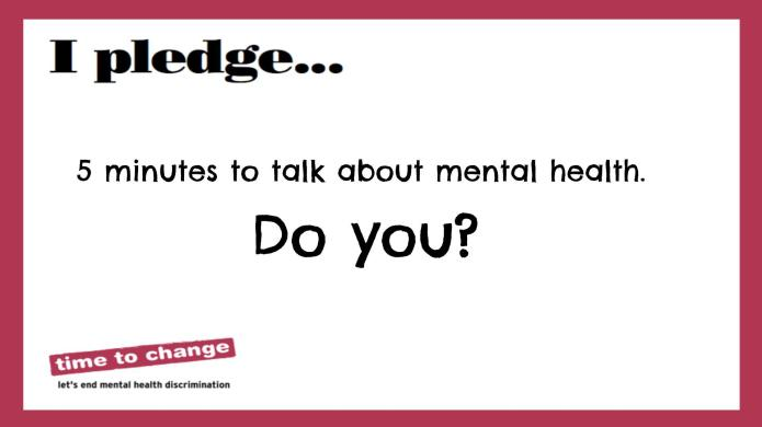 It's #TimetoTalk — and the topic