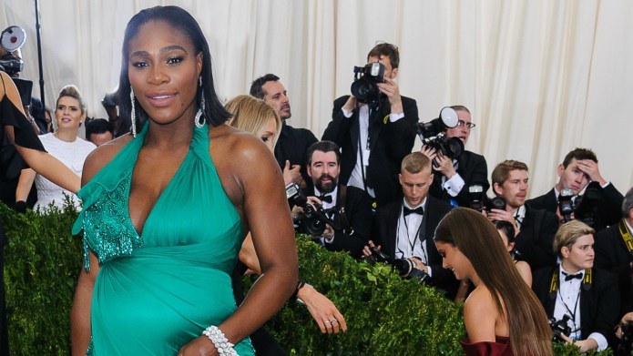 Serena Williams Waiting to Learn Baby's