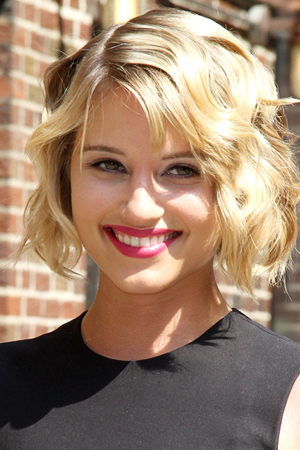 Dianna Agron -- Big & beautiful