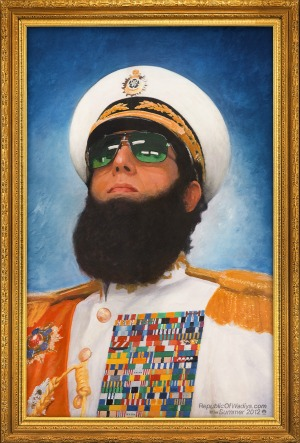 The Dictator official poster