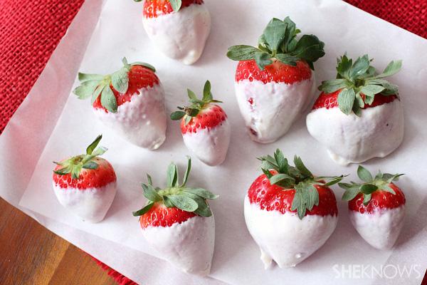 Fresh berries and Greek yogurt