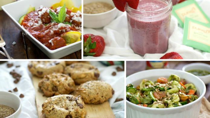 4 Healthy summer recipes for a