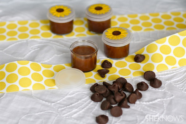 DIY Chocolate Chip Lip Balm