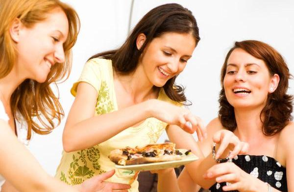 How to avoid party food temptation