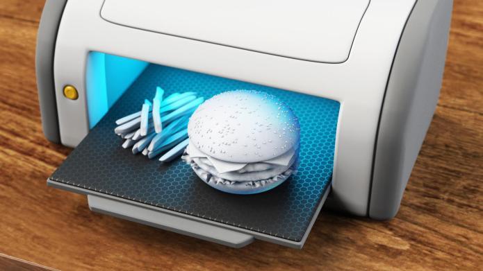 3-D printers make food prep easy