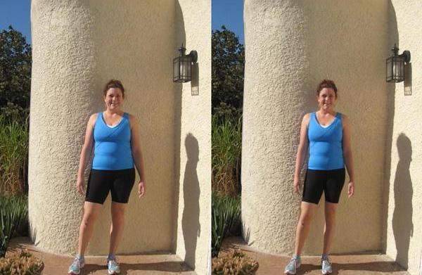 Lose weight in minutes with weight