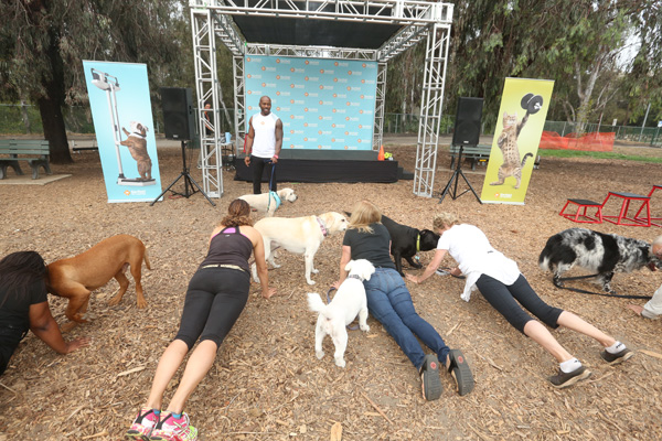 Dolvett Quince -- Workout ideas you can do with your dog