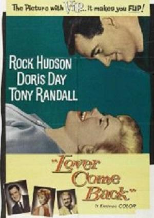 "Doris Day Rock Hudson ""Lover Come Back"""