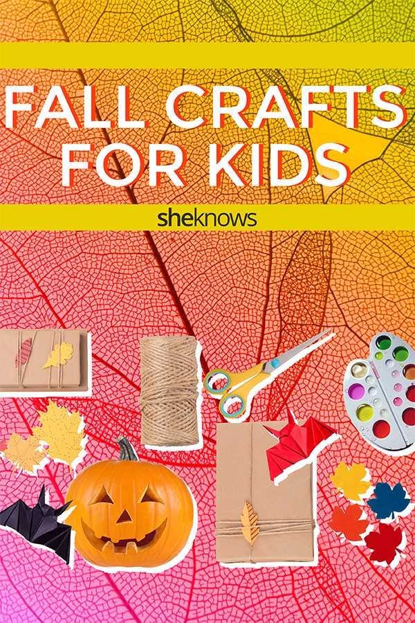 Best Fall Crafts for Kids: Colorful Pinterest DIYs for Halloween and Thanksgiving