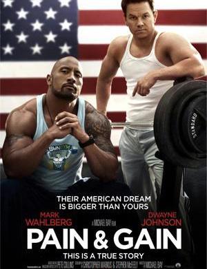 In Pain & Gain, bodybuilding is