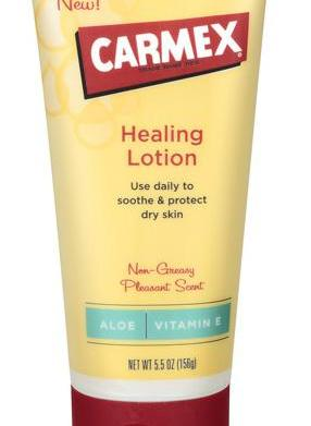 Beauty find: Carmex healing lotion