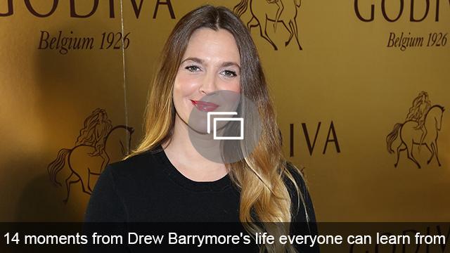 Drew Barrymore lessons slideshow