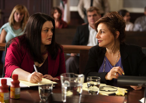 Brooke and Kathy are ready for courtroom battle