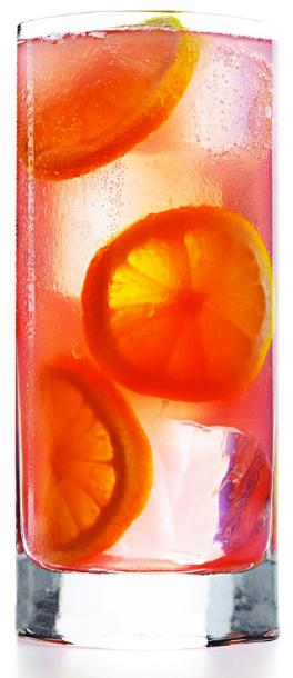 Drunken pink lemonade
