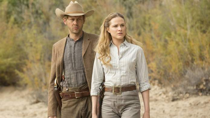 In their downtime, the Westworld cast