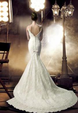 Wedding dress styles: The mermaid dress