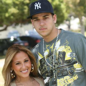 Rob Kardashian's ex-girlfriend made a mistake