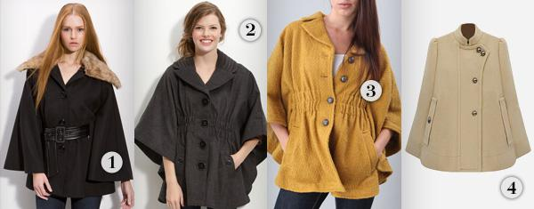 Our favorite budget-friendly winter capes
