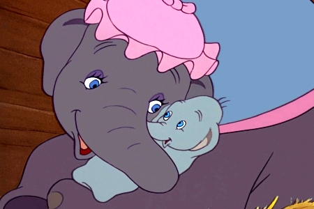 Jennifer Garner narrages A Poem Is...with images from Dumbo!