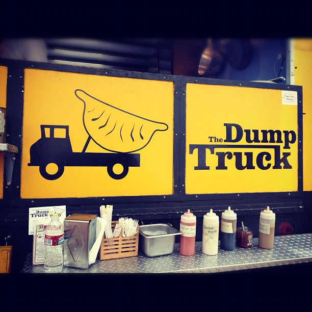 dump truck food truck