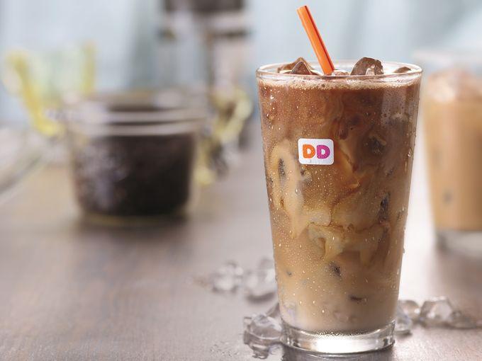 Dunkin Donuts coconut coffee
