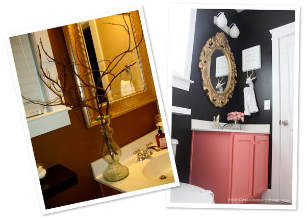 Bathroom makeover by Dwellings by Devore